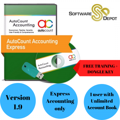 AutoCount Express Account with Multi Company