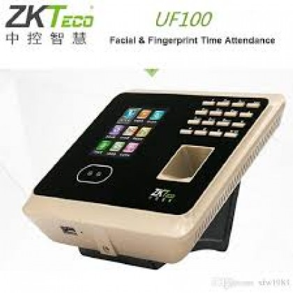 CHECK TIME - UF100 FACIAL AND FINGERPRINT RECOGNITION ATTENDANCE DEVICE- WI-FI + TAS System