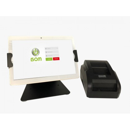 ANDROID POS SYSTEM - MODEL BE10Q + Bluetooth Receipt Printer